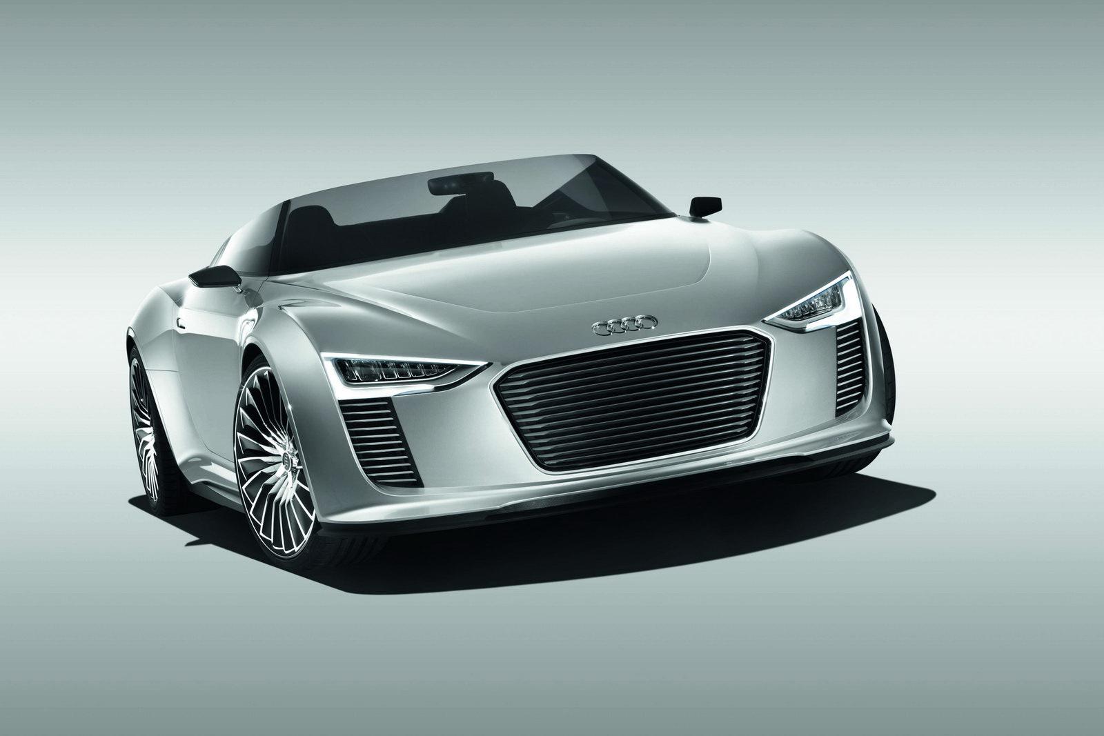 Audi e-Tron Spyder koncept