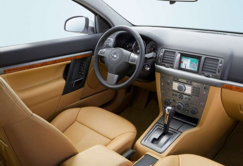 Opel Vectra C Wnętrze