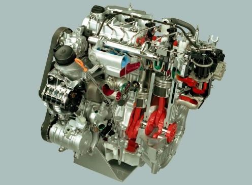 Honda Accord Przekrój silnika i-CTDi