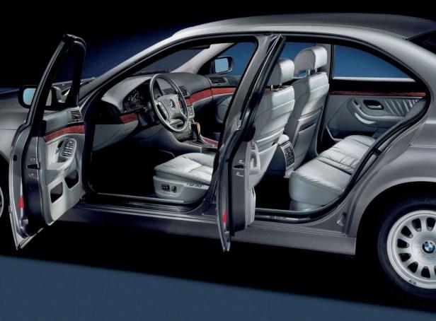 BMW 520i E39 Wnętrze