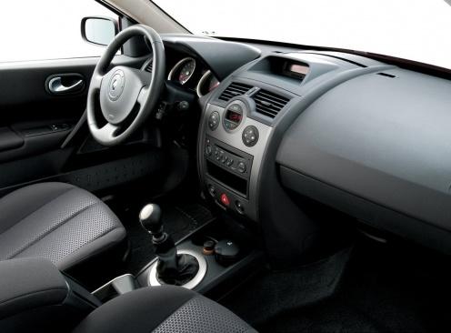 Renault Megane II Wnętrze