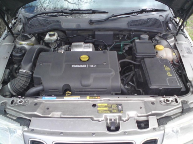 Saab 9-5 Silnik 2.2 TiD