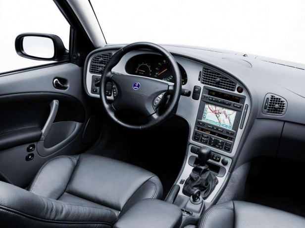 Saab 9-5 Wnętrze