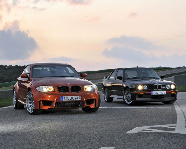 BMW 1 Series M Coupe and BMW M3 Sport Evolution