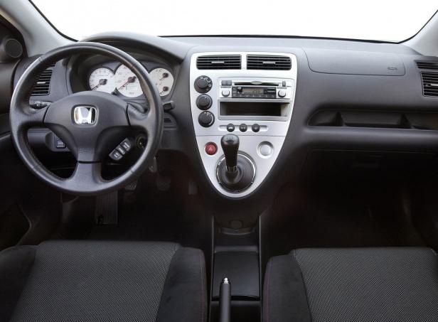 Honda Civic VII Wnętrze