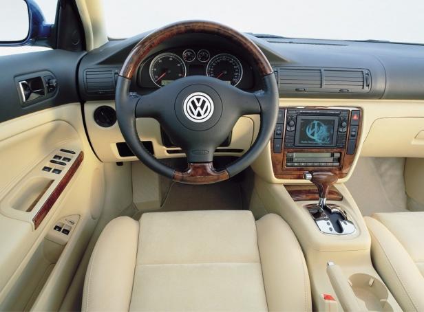 Volkswagen Passat B5 FL Wnętrze
