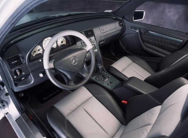 Mercedes klasy C W202 Wnętrze