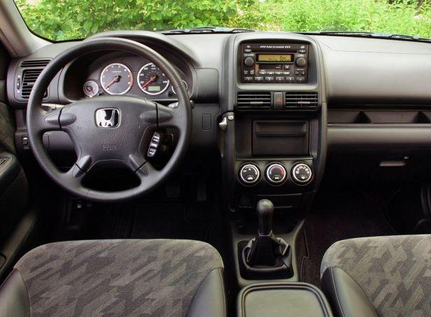 Honda CR-V Wnętrze