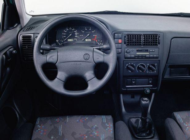 Volkswagen Polo III Wnętrze