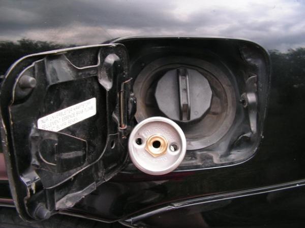 Wlew gazu LPG