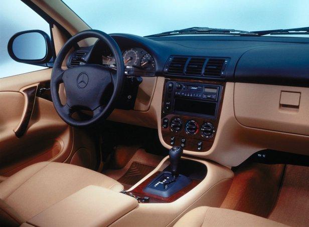 Mercedes-Benz ML Wnętrze
