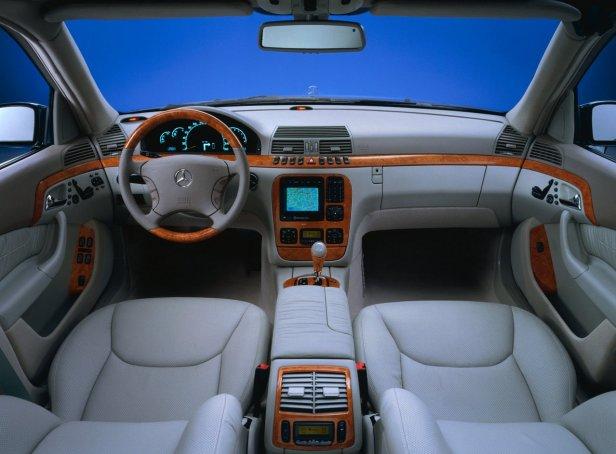 Mercedes-Benz Klasy S Wnętrze