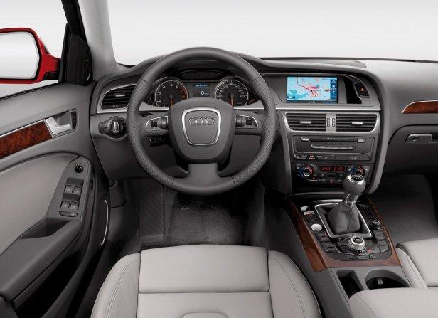 Audi A4 B8 Wnętrze