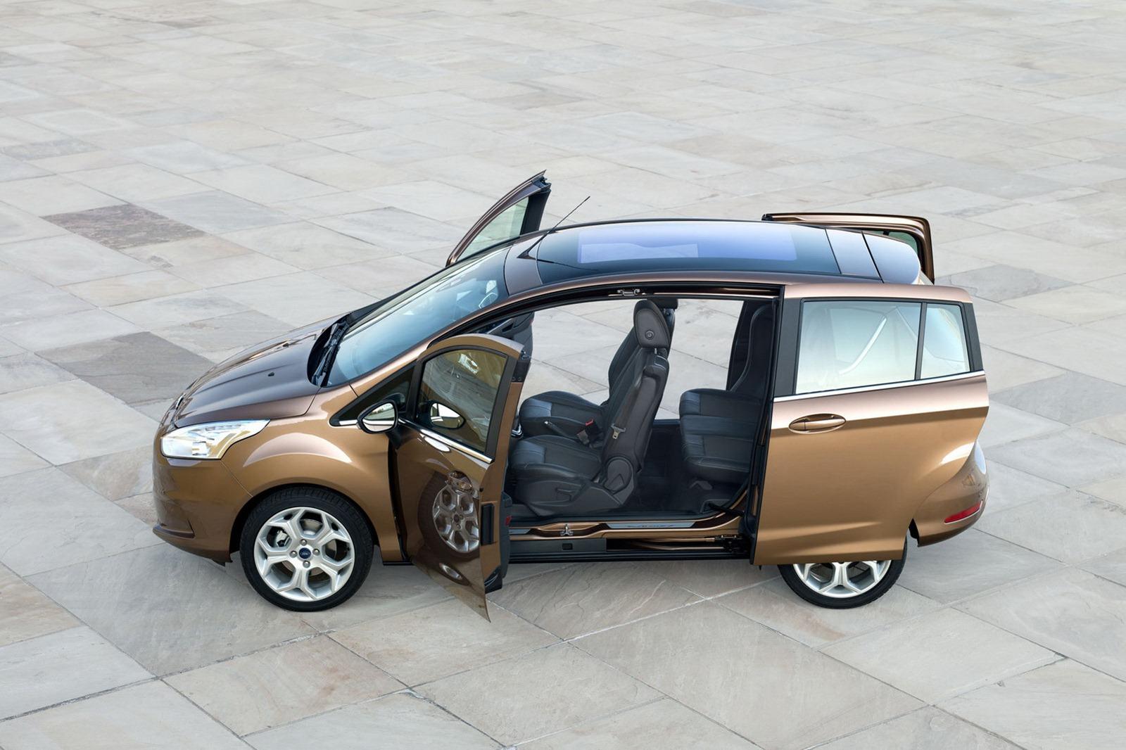 Nowy Ford B-Max rozpoczyna walkę o polskiego klienta