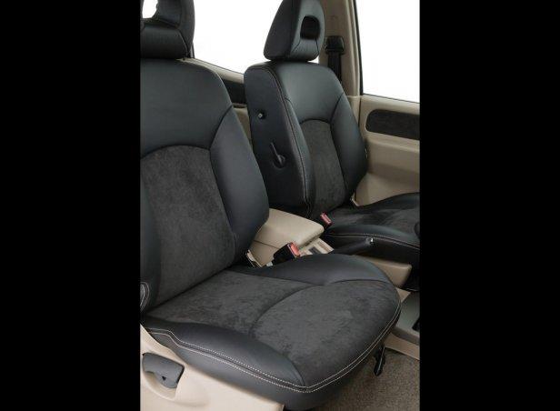 Nissan Terrano II Wnętrze