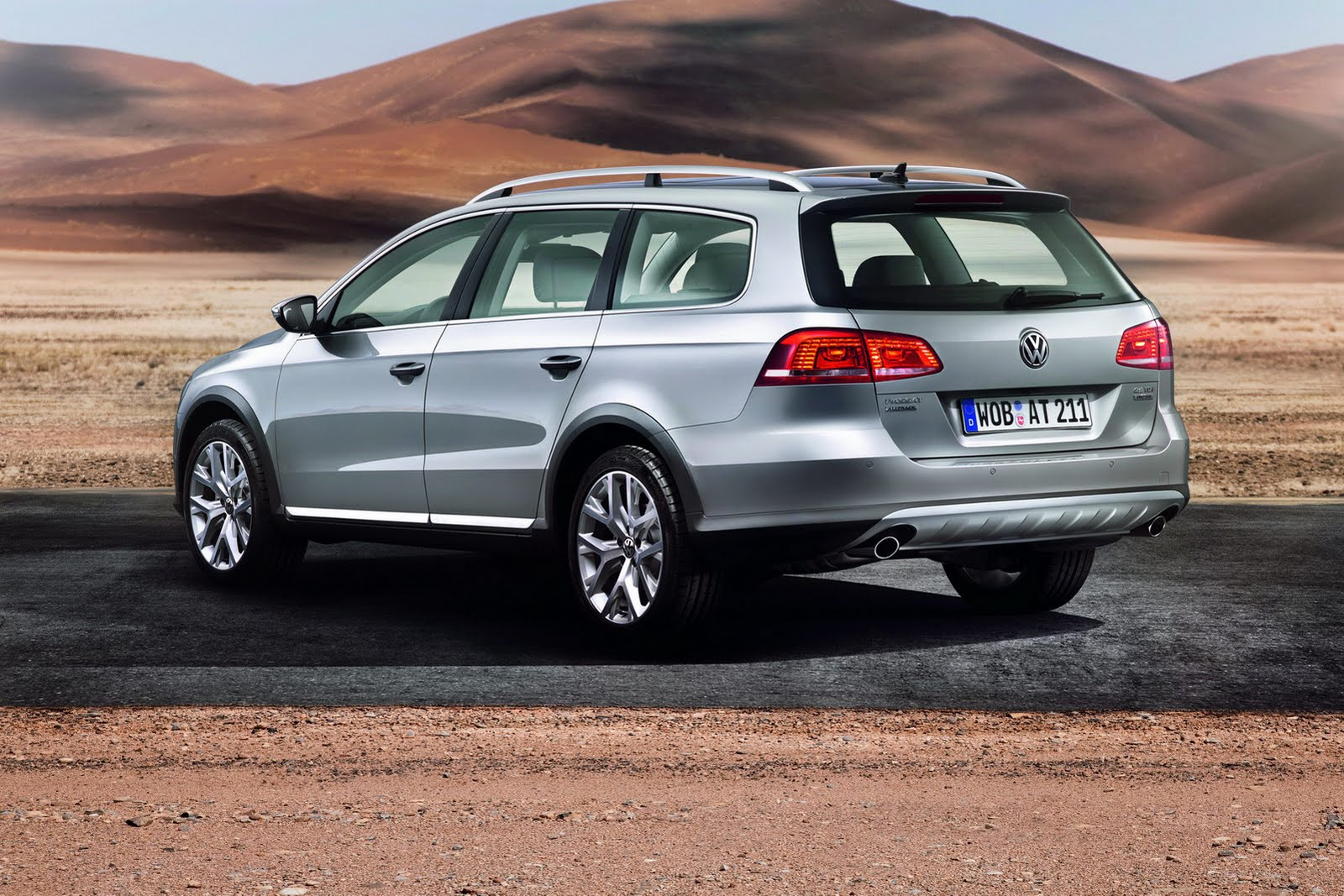 Тест-драйв ру: Volkswagen Passat Alltrack | Фольксваген