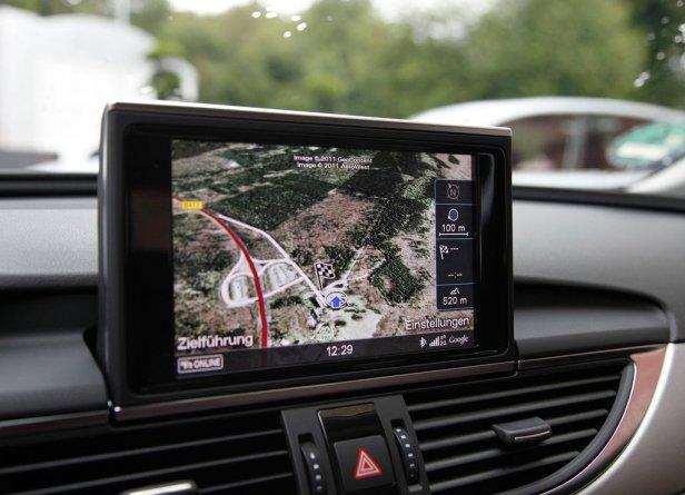 Audi A6 Nawigacja