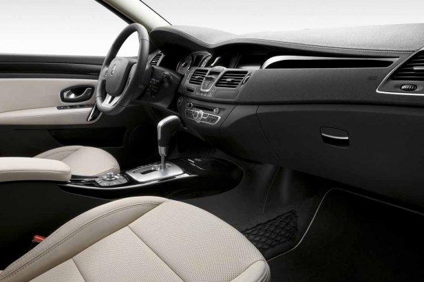 Renault Laguna Wnętrze