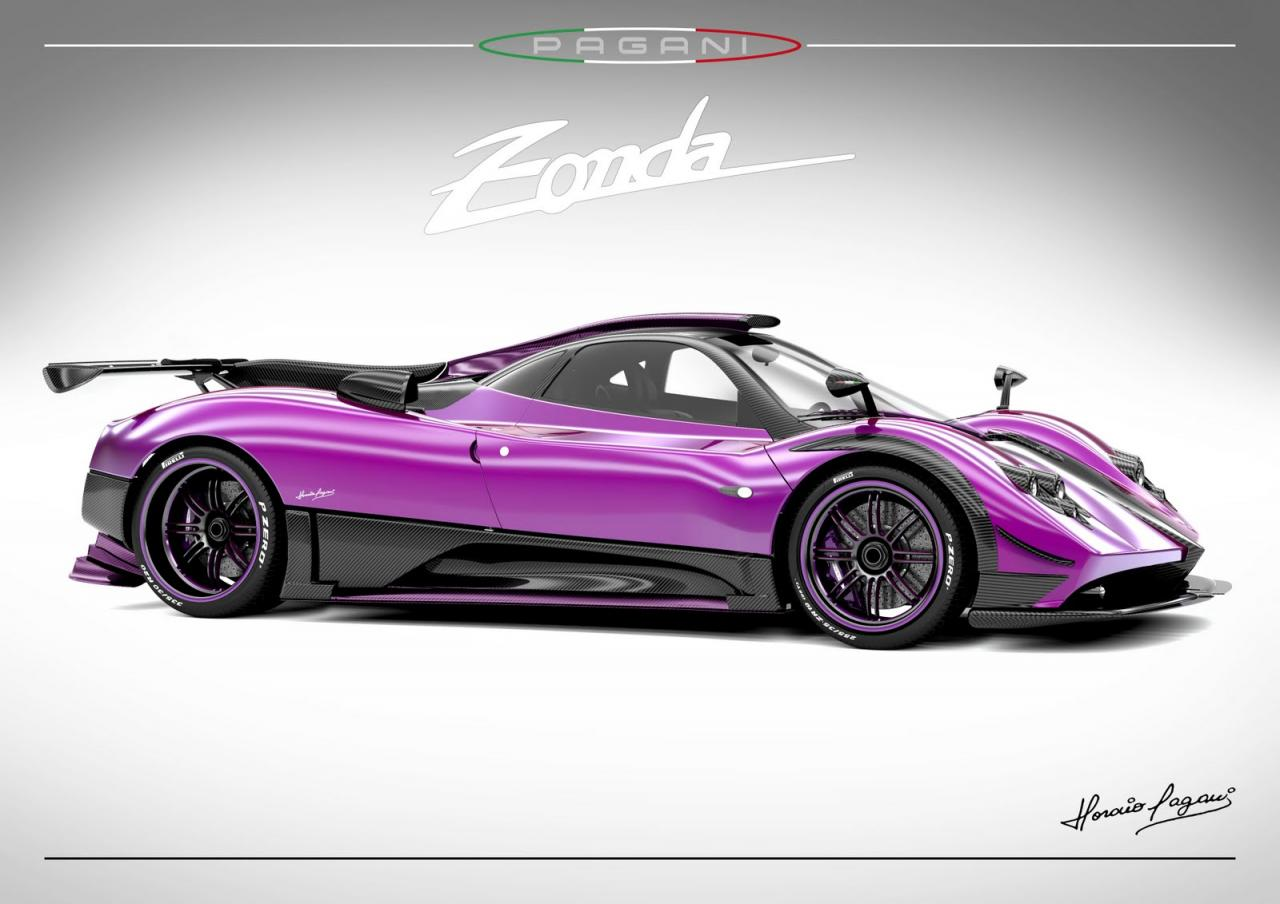 pagani zonda 764 passione ostatnia z rodu. Black Bedroom Furniture Sets. Home Design Ideas