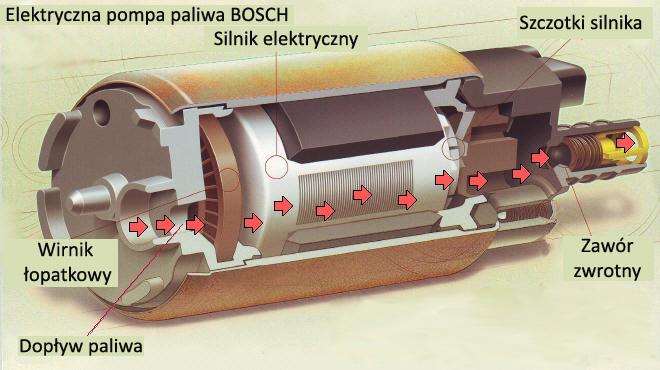 Niskociśnieniowe pompy paliwa – budowa i działanie ...