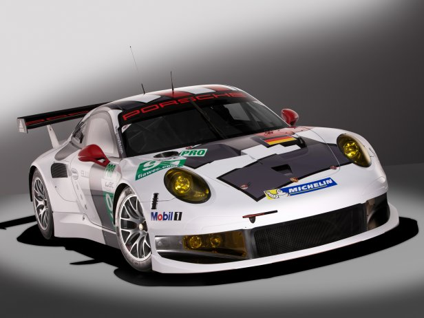 Porsche 911 RSR fot.1 - Porsche 911 RSR (2013) [wycigi]