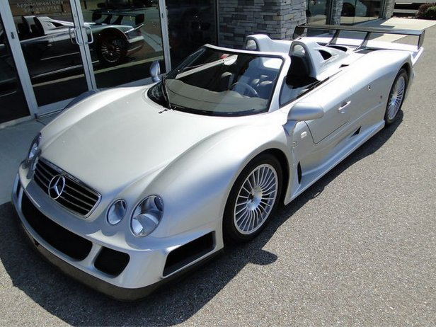 CLK GTR1 - Zjawiskowy Mercedes CLK GTR Roadster na sprzeda!
