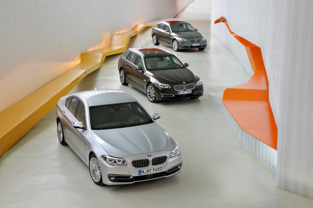 2014 BMW Serii 5 - 2014 BMW Serii 5 Sedan, Touring, Gran Turismo [galeria]