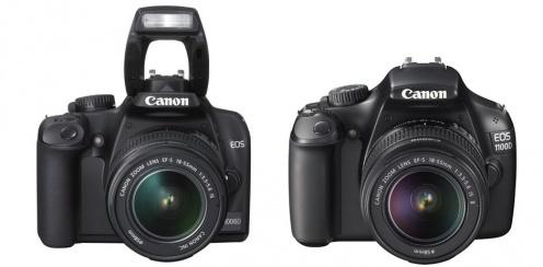Canon EOS 1000D i1100D - przód