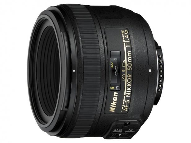 50 mm f/1.4 G AF-S