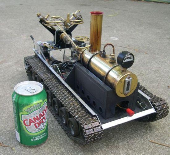 Стимпанк вживую, или роботы на паровой тяге (25 фото + 2 видео)