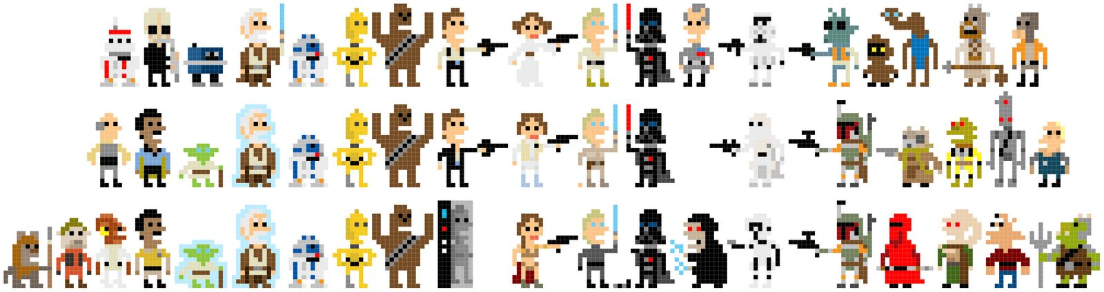 Star Wars na 8 bitach