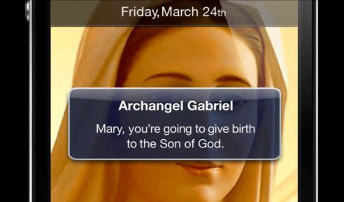 iPhone Maryi Dziewicy