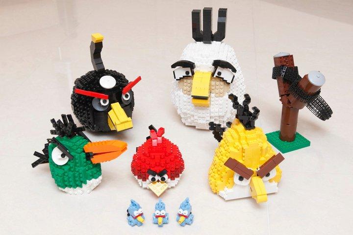 Angry Birds z LEGO
