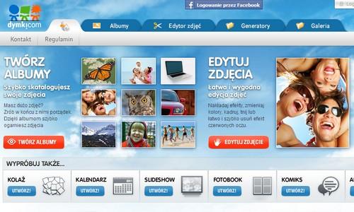 Dymki.com - pobaw się swoimi zdjęciami