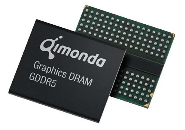 Kości GDDR5 Quimonda (fot. hothardware.com)