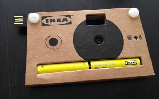 Aparat fotograficzny IKEA (Fot. CultOfMac.com)
