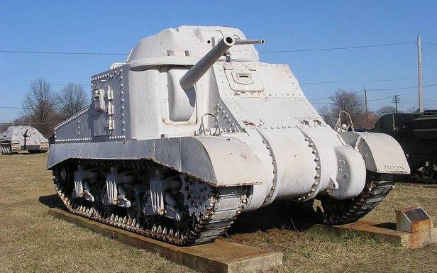 Czołg M3 (Fot. Wikimedia Commons)