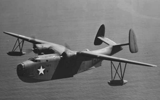 Martin PBM Mariner - maszyna tego typu zaginęła podczas poszukiwania samolotów porucznika Taylora