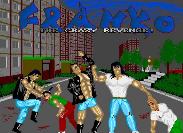 Franko The Crazy Revenge - kultowa polska bijatyka zlat 90.