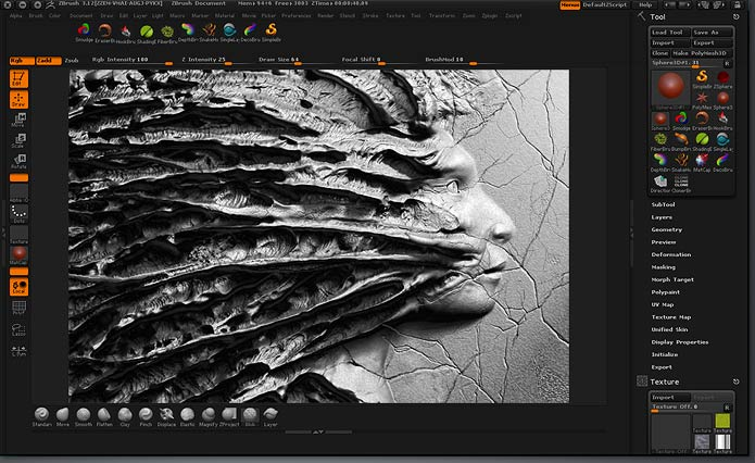 Zbrush 4 R3 mac intel with crack.