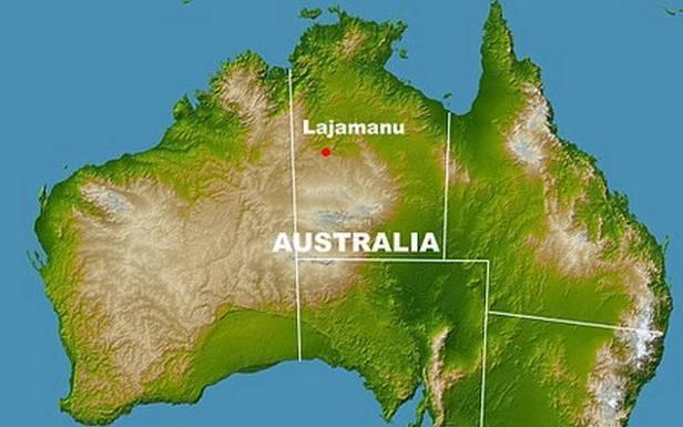 Lajamanu toizolowana miejscowość wpółnocnej Australii