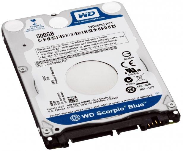 WDScorpioBlue_7mm_500GB_3s - WD wprowadza superpłaskie dyski Scorpio Blue i nowe plany serwisowe WD Care