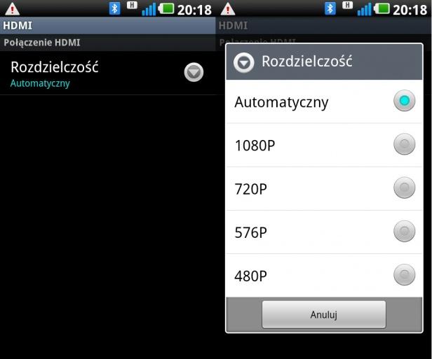 LG Swift 2X - HDMI