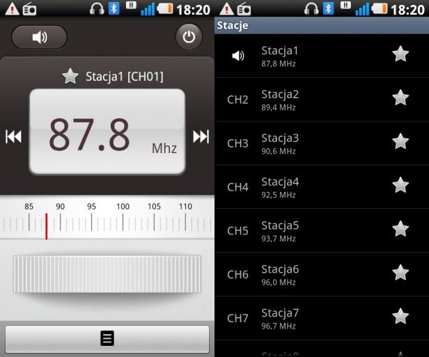 LG Swift 2X - radio FM