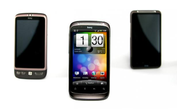 HTC Desire, Desire S, Desire HD | fot. madeofGray.com