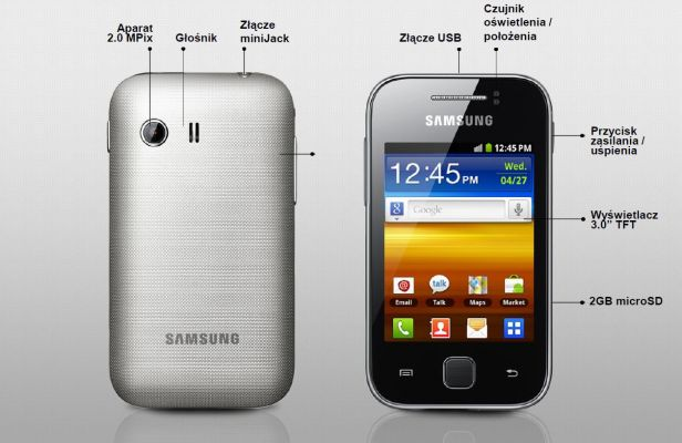 Samsung Galaxy Young | wł.