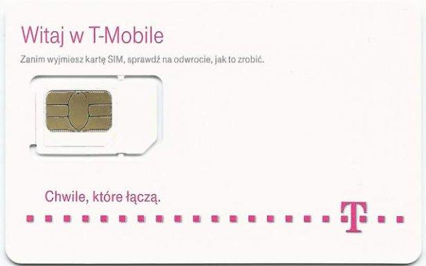 Karta SIM T-Mobile