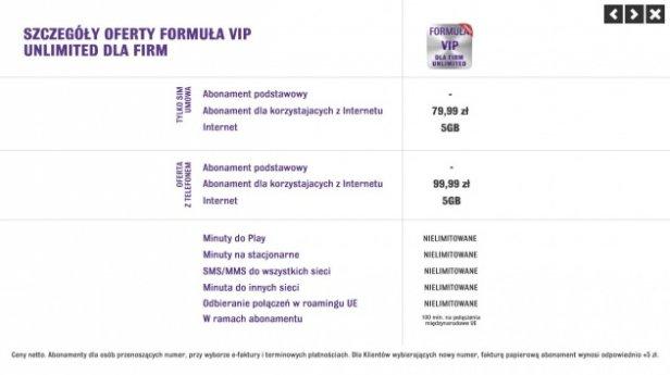 Formuła VIP