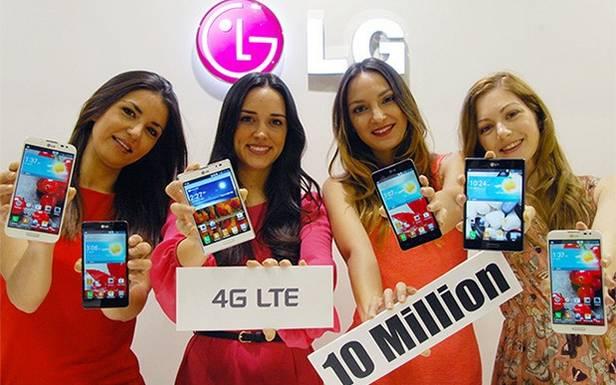 LG sprzedało już 10 mln smartfonów zLTE!
