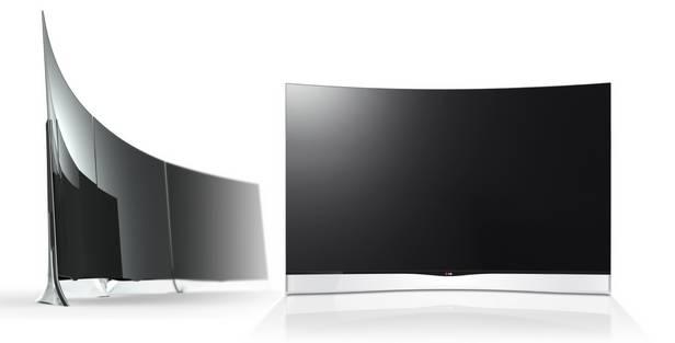 Telewizor EA9800 zazakrzywionym ekranem OLED